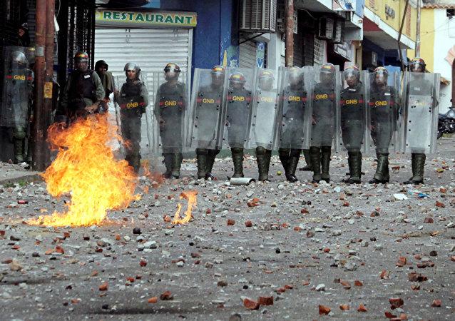 Protestas de la oposición en Venezuela