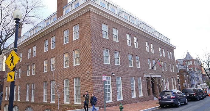 La embajada de Venezuela en Washington