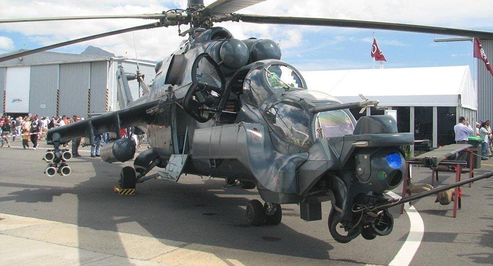 Resultado de imagen para ¿Exótico, pero poco práctico? Así es el Mi-24 soviético modificado por Sudáfrica