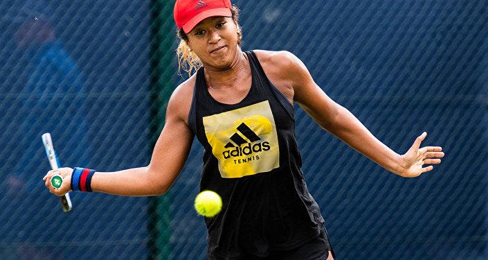 La tenista Naomi Osaka, foto archivo