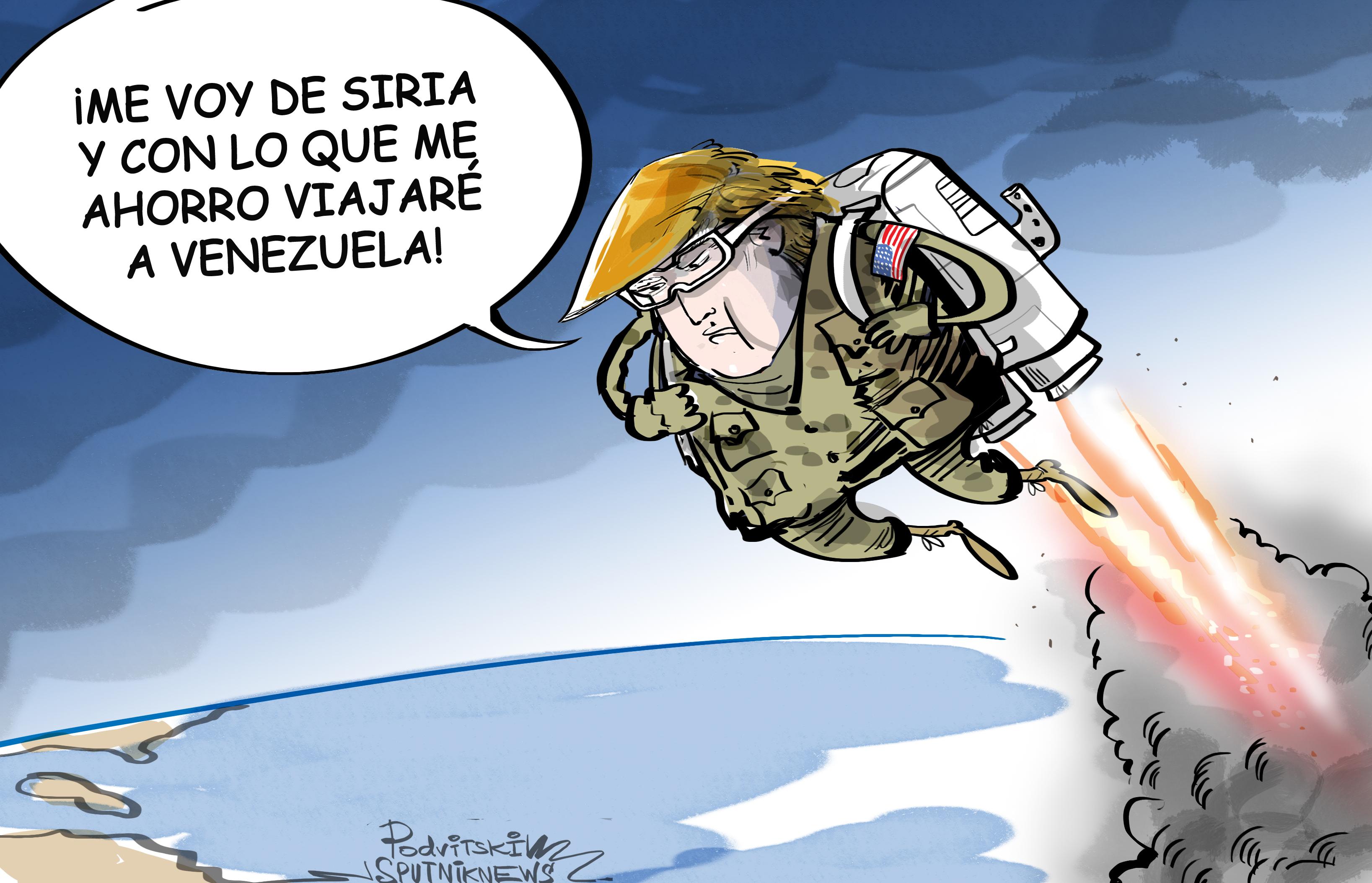 Con amigos así, no hacen falta enemigos: EEUU, listo para 'ayudar' a Venezuela