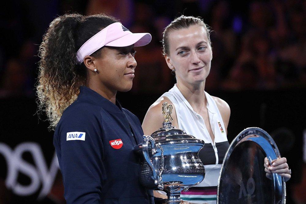Osaka vs. Kvitova: la final del Abierto de Australia, en imágenes