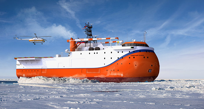 Las nave rusa Severni Polius