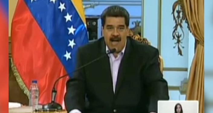 Maduro le lanza un mensaje a Donald Trump en inglés