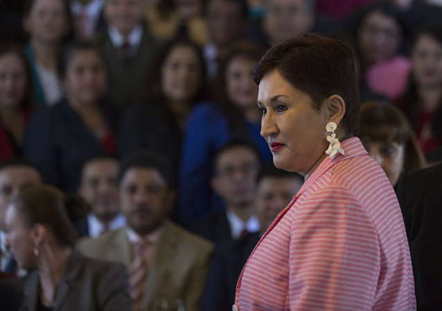 Thelma Aldana, exfiscal general de Guatemala