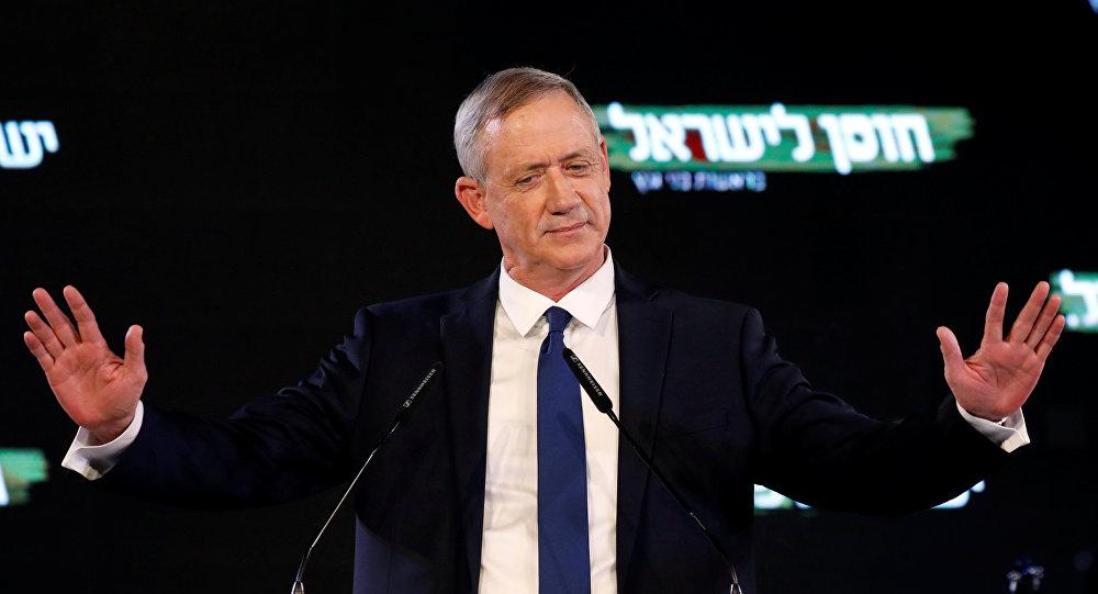 Benny Gantz, exjefe de las Fuerzas de Defensa de Israel