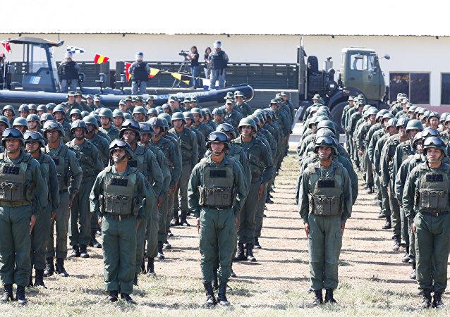 Los soldados de Venezuela