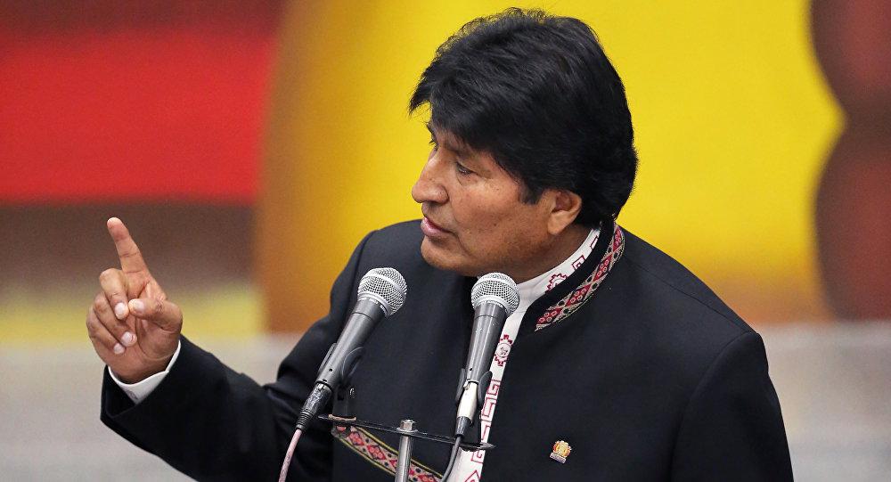 Evo Morales dice que EEUU busca devastar Venezuela