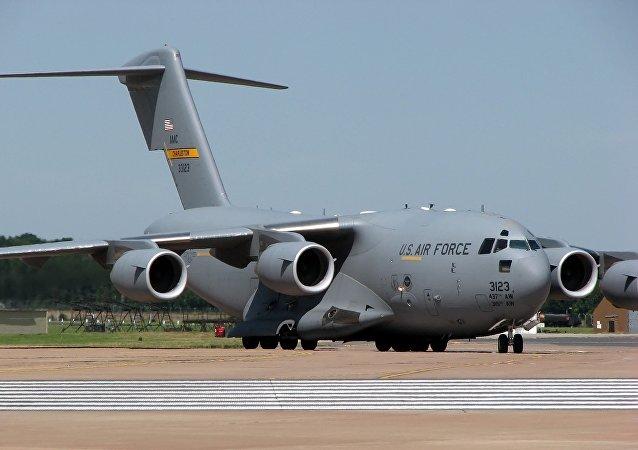 Avión C17A fuerza aérea de EEUU