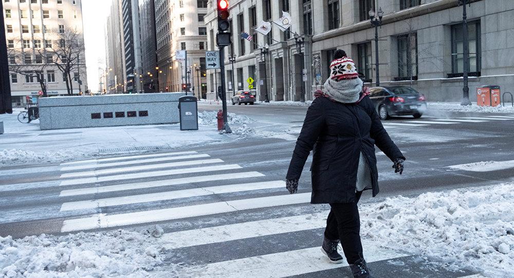 Ola de frío extremo en EEUU