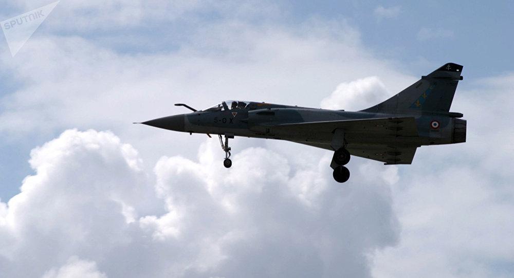 Un caza Mirage (imagen referencial)