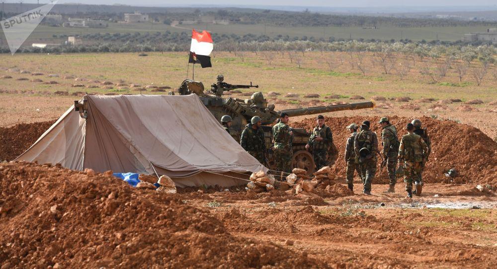 Los militares sirios