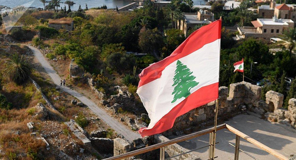 La bandera de Líbano