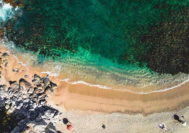 La costa de Cabo Verde