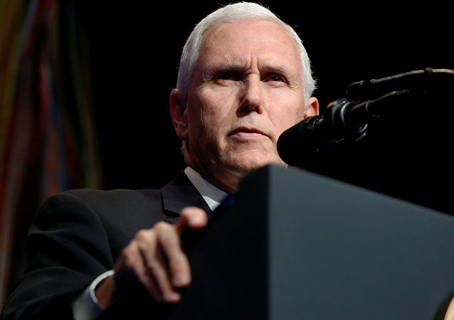Mike Pence, vicepresidente de EEUU (archivo)