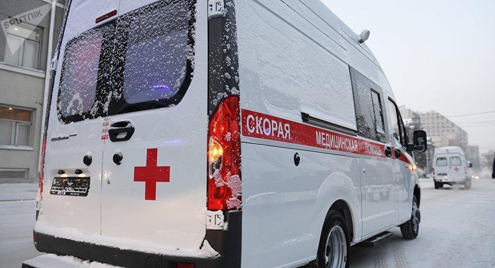 La ambulancia de Rusia