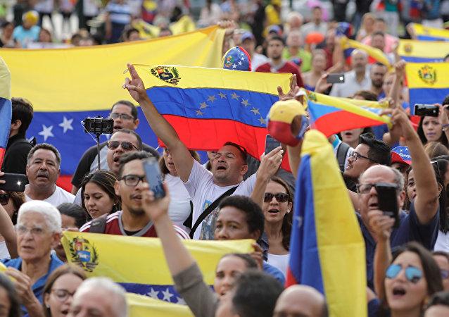 Las protestas en Venezuela
