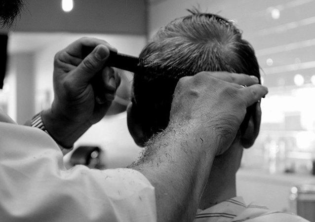 Una peluquería, referencial