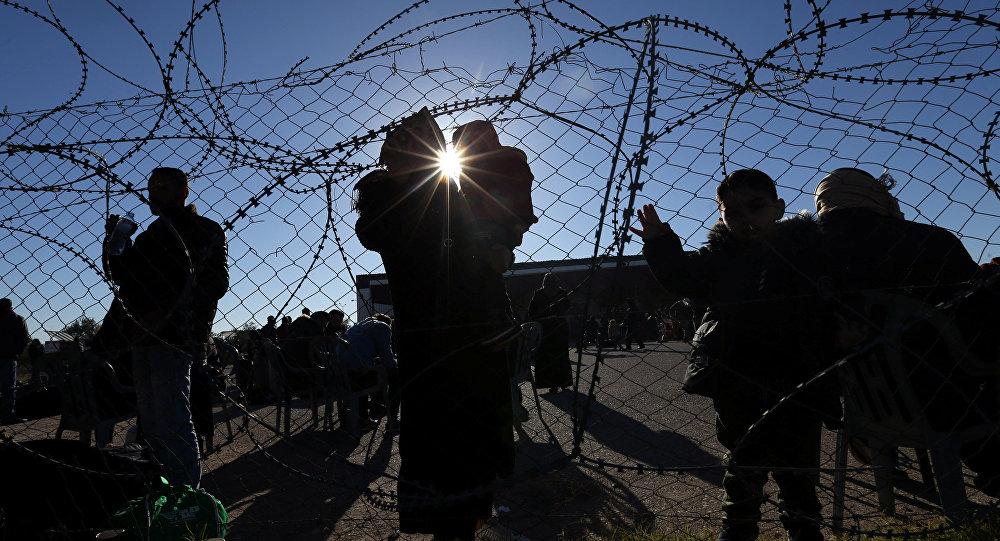 La valla metálica entre Israel y Gaza