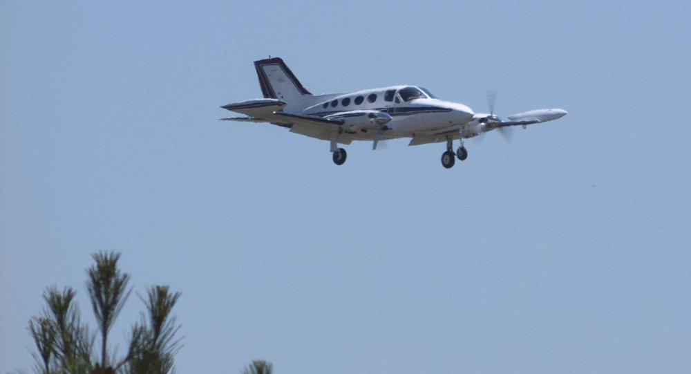 Avión de pasajeros Cessna 414A