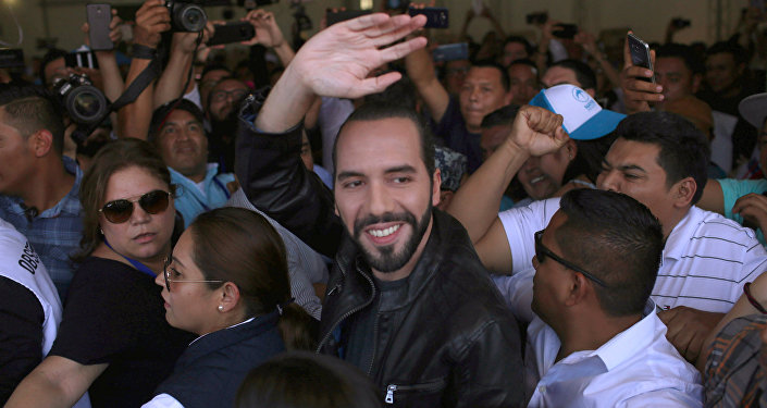 Nayib Bukele, político salvadoreño, vencedor de las presidenciales de 2019