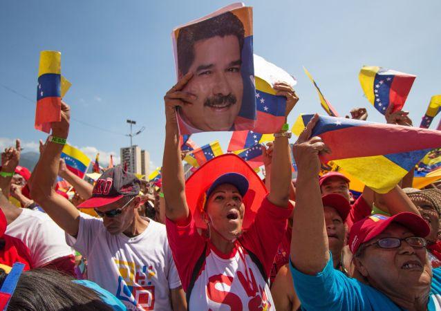 Los partidarios de Nicolás Maduro en Venezuela (archivo)