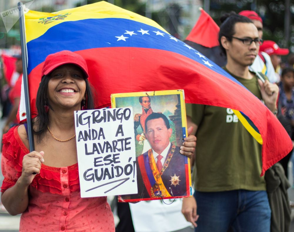 Las dos caras de Caracas: las manifestaciones con los partidarios de Maduro y Guaidó