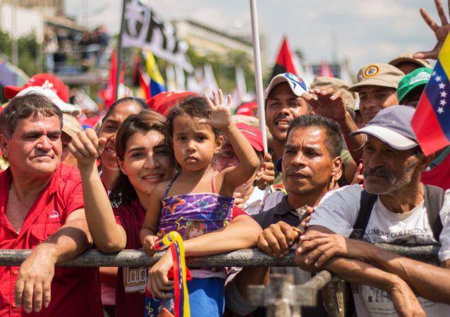 Los partidarios de Nicolás Maduro (archivo)