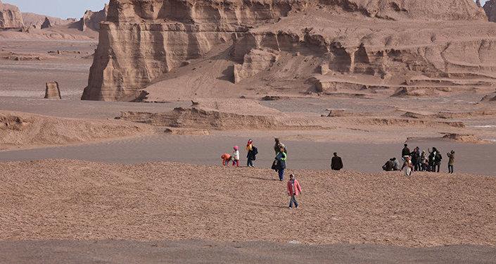 Un desierto iraní