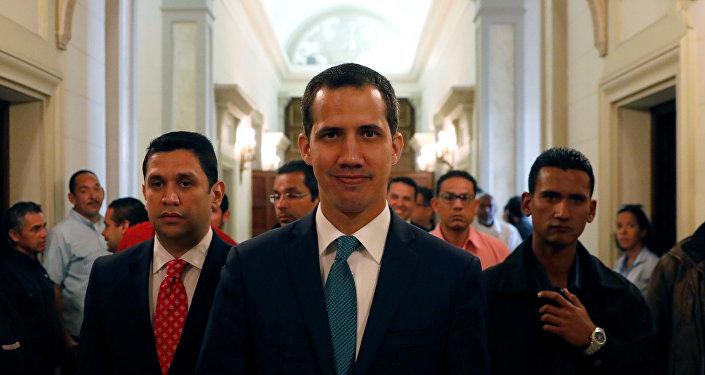 Juan Guaidó, líder opositor de Venezuela
