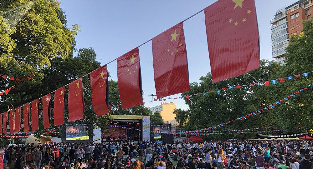 Festejos del Año Nuevo Chino en Buenos Aires