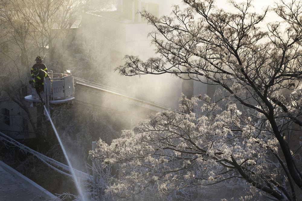 Temblando de frío: un invierno fuera de lo normal recorre EEUU