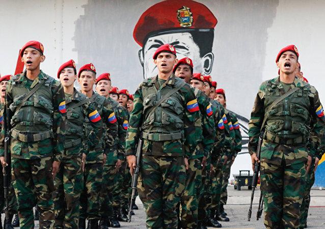 Militares venezolanos (archvio)