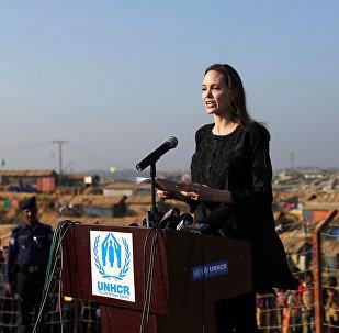 Angelina Jolie, enviada especial del Alto Comisionado de las Naciones Unidas para los Refugiados