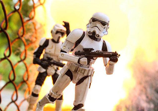 El fantástico mundo de la 'Guerra de las galaxias' cobra vida a través de la cámara de un aficionado