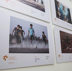 Exposición del concurso Andréi Stenin (archivo)