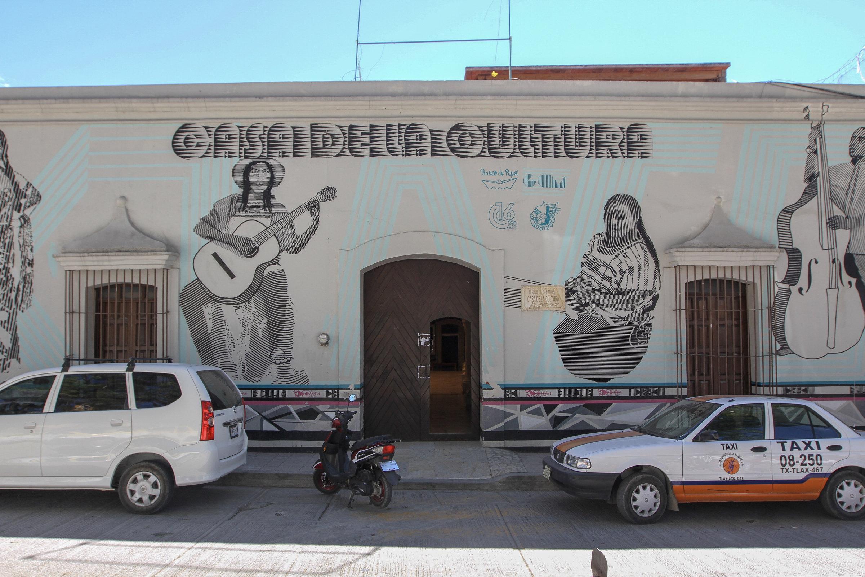 La Casa de Cultura en Tlaxiaco