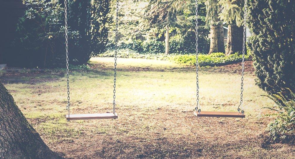 Columpios en un parque (imagen referencial)