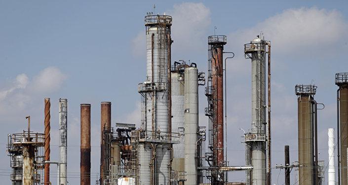Refinería de petróleo en EEUU (archvio)