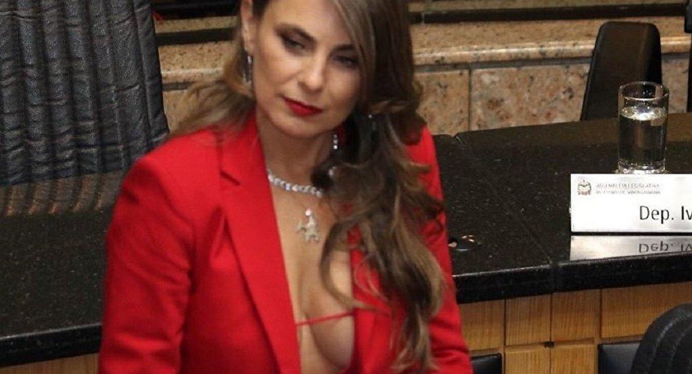 La diputada brasileña Ana Paula da Silva