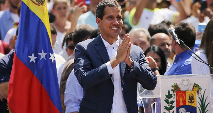 Juan Guaidó, líder de la oposición venezolana