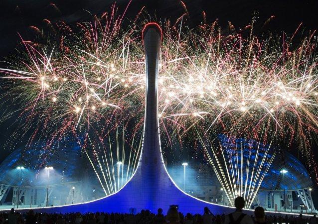 Campeonato de fuegos artificiales en Sochi (2017)