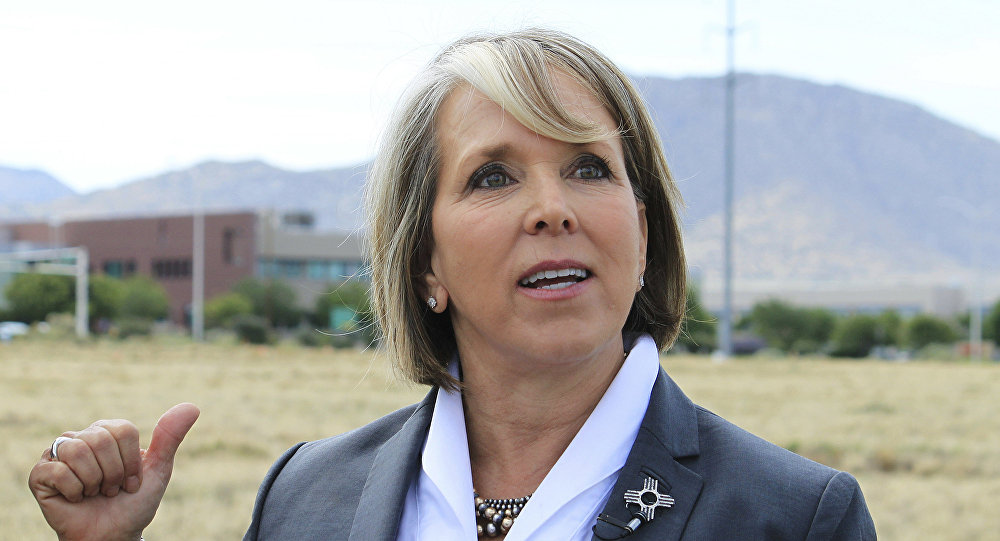 Michelle Lujan Grisham, gobernadora de Nuevo México