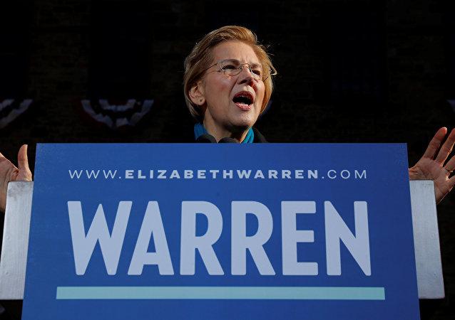 La senadora Elizabeth Warren