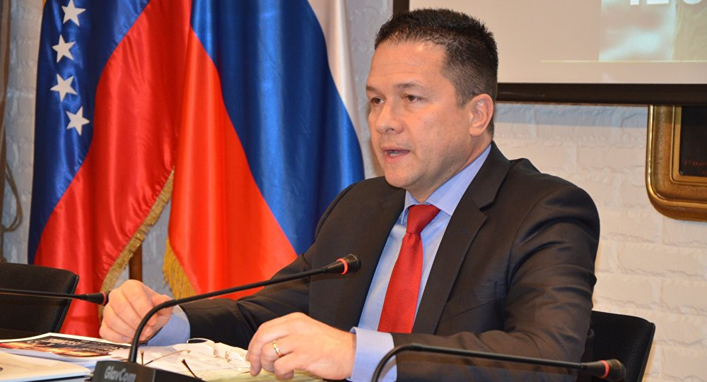 Carlos Faría, embajador de Venezuela en Rusia