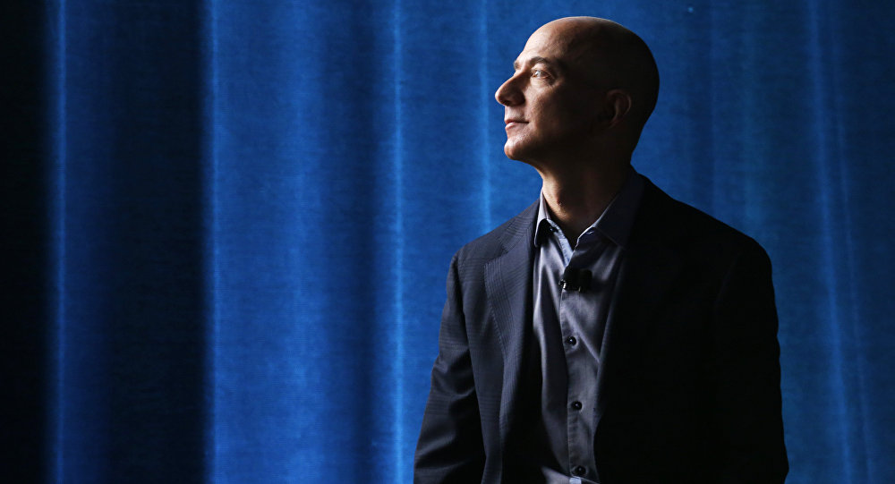 Jeff Bezos, propietario de Amazon