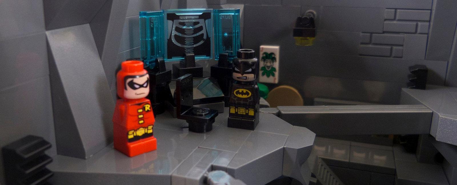 Batcave de Lego