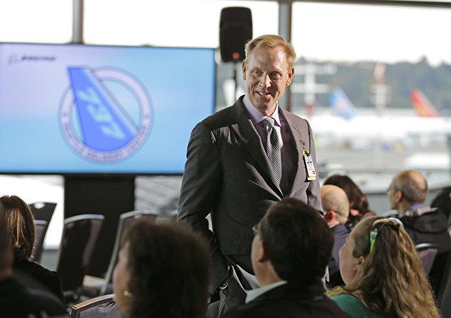 El secretario de Defensa en funciones de Estados Unidos, Patrick Shanahan