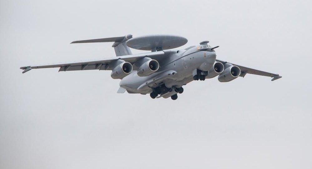 Avión ruso de alerta temprana A-100