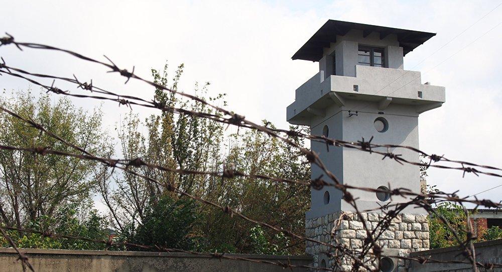 Antiguo campo de concentración de Crveni Krst en Serbia